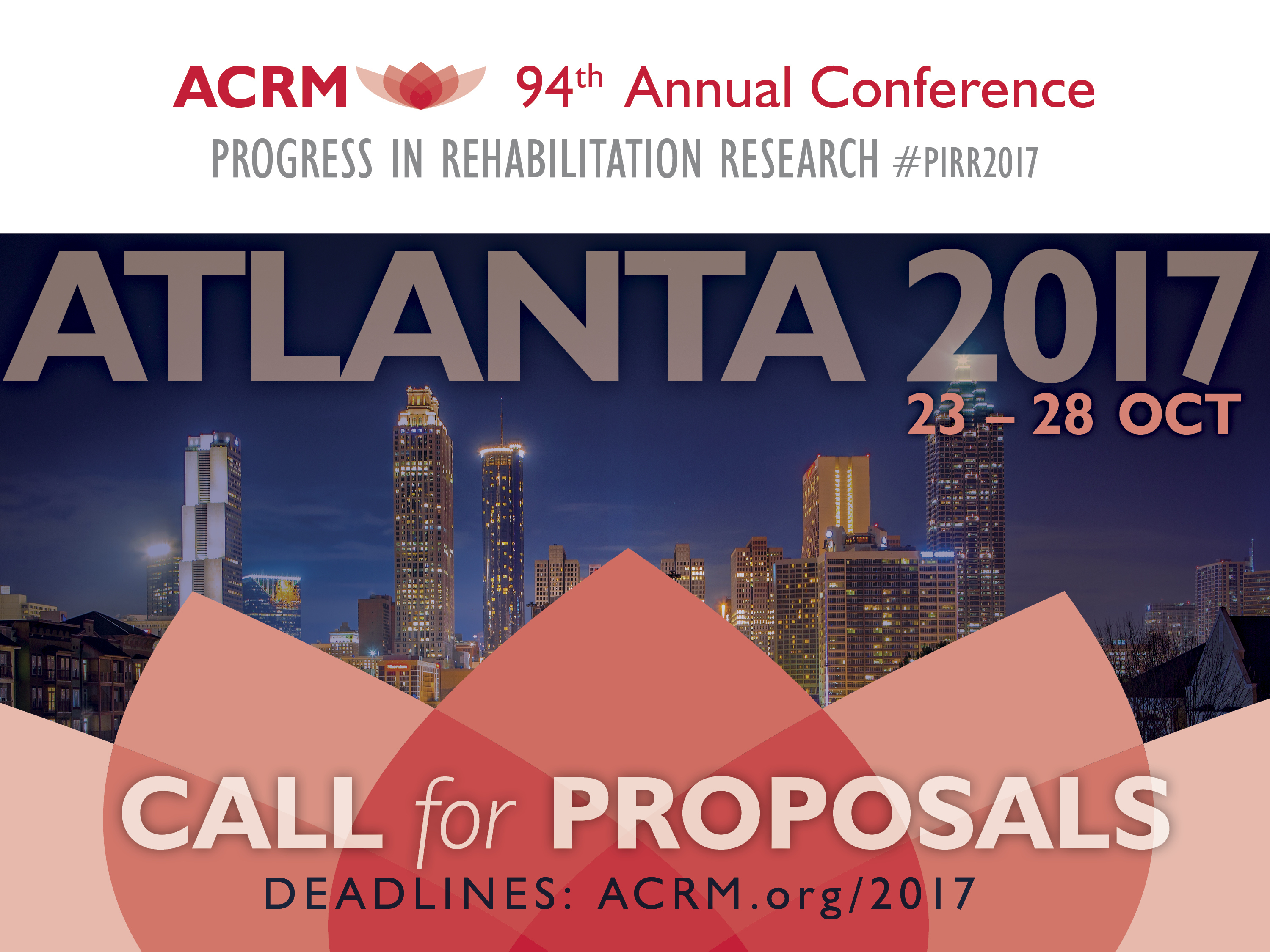 ACRM Annual Conference Call for Proposals PPT Slide Art