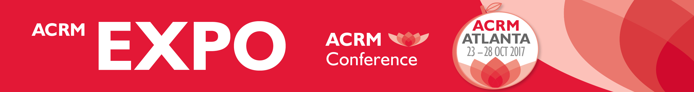 EXPO at ACRM Conference