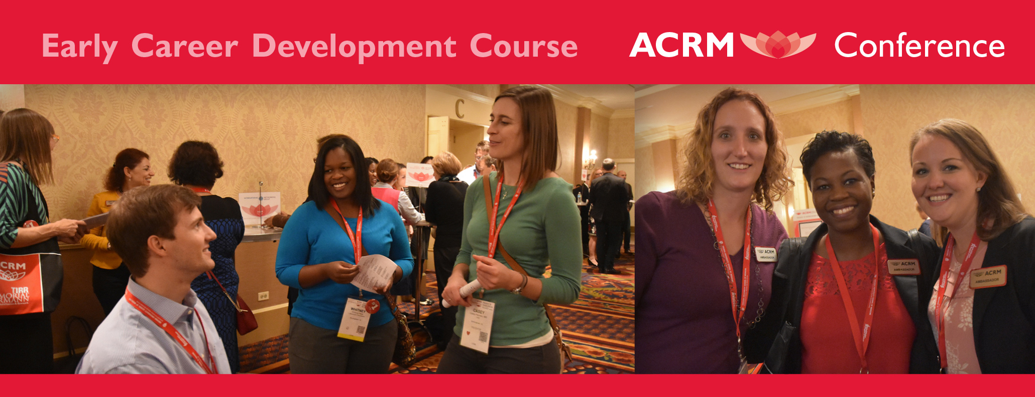 Early Career Development Course at ACRM Conference