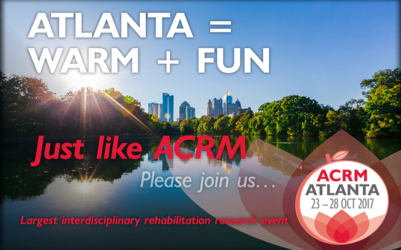Atlanta = Warm + Fun Just like ACRM