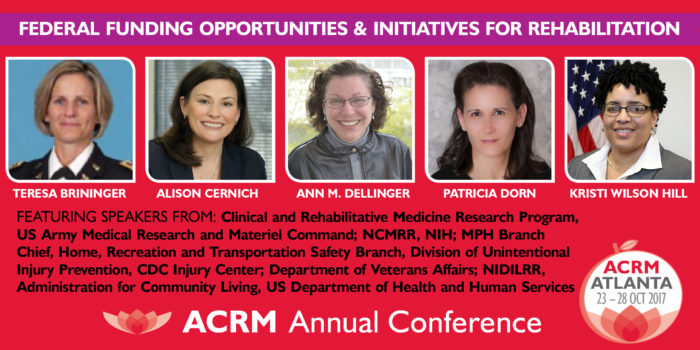 FEATURED SESSION: Federal Funding Opportunities & Initiatives for Rehabilitation