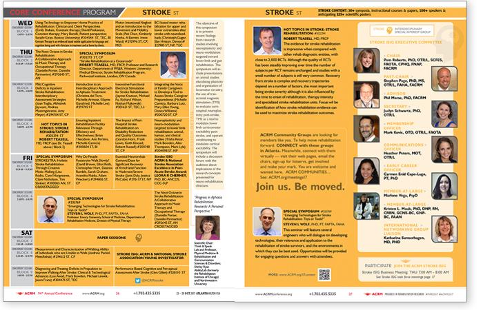 Stroke Rehab Content Brochure