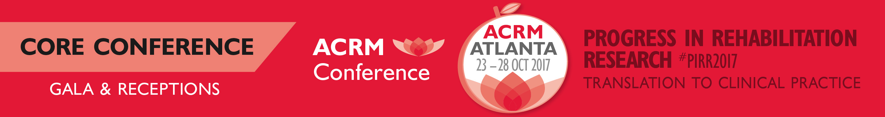 ACRM Core Conference Gala & Receptions