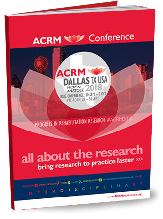 ACRM Conference brochure DALLAS 2018