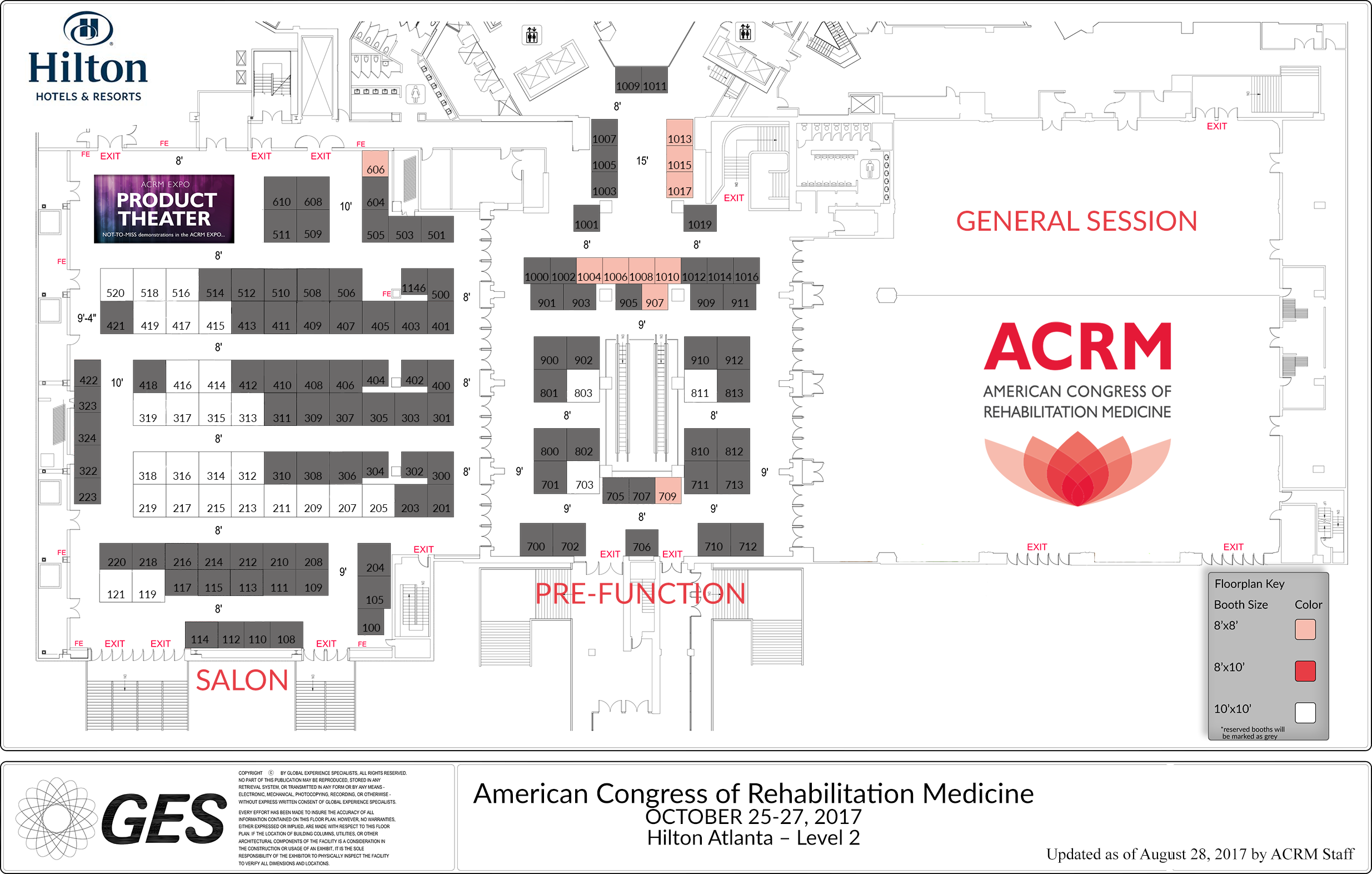In addition the cldr is sponsoring a booth in the main exhibition hall at acrm