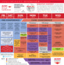 ACRM Annual Conference 2018 DALLAS Week-at-a-Glance Overview