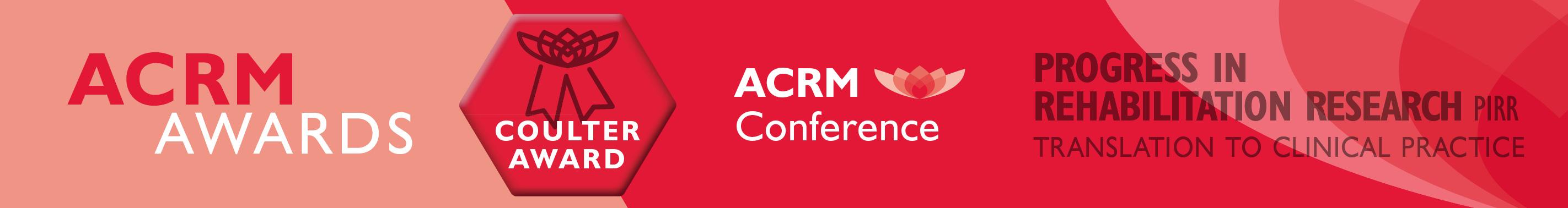 John Stanley Coulter Award ACRM Award