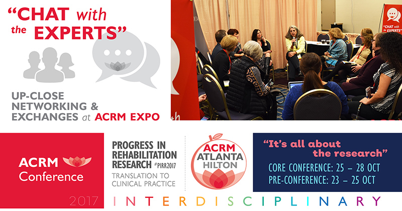 ACRM Conference Chat with the Experts 2017