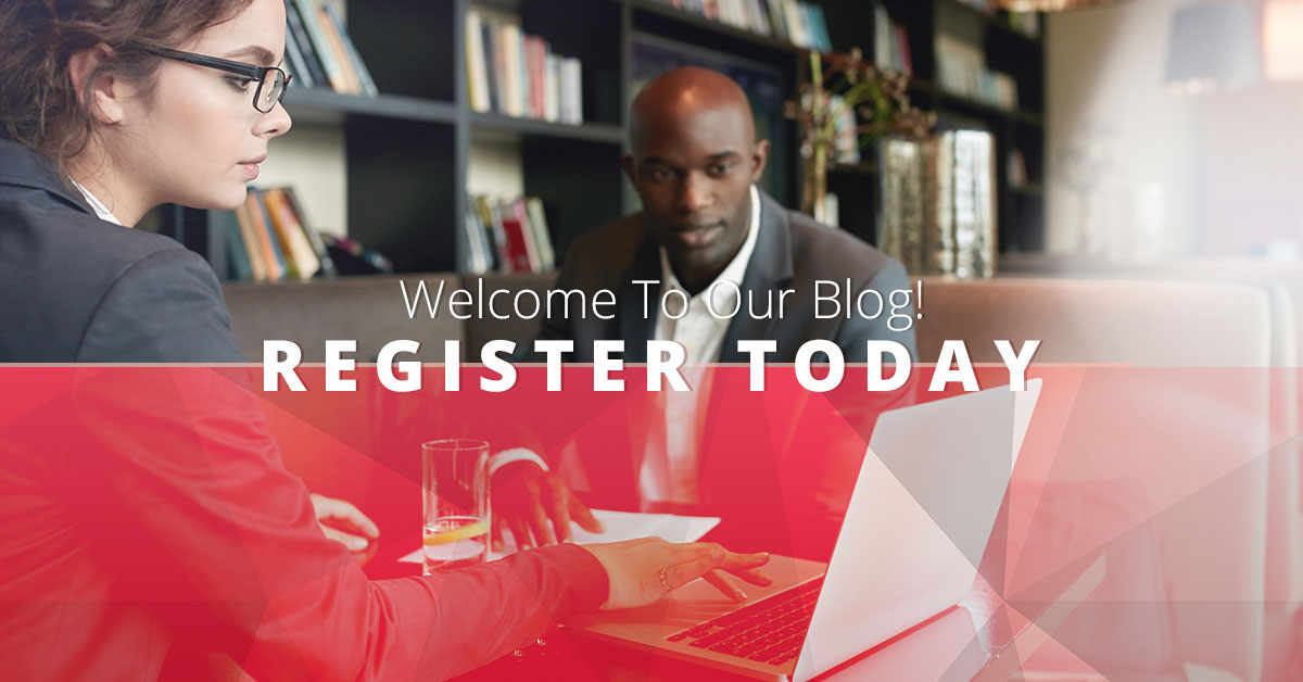 Welcome To Our Blog! Register Today