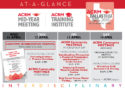 At-a-Glance schedule 25Jan18: Mid-Year Meeting & ACRM Training Institute April 2018 DALLAS
