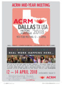 ACRM MID-YEAR MEETING