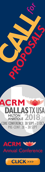 ACRM 2018 Call for Proposals ad