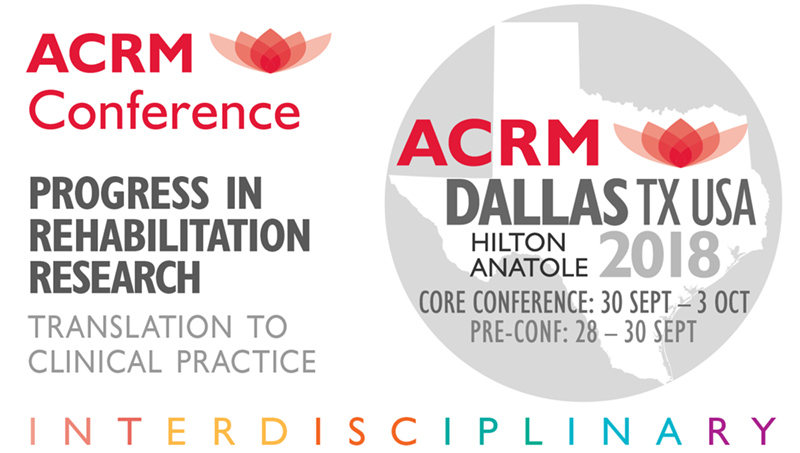 ACRM Annual Conference Dallas 2018 simple signature