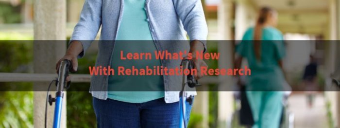 rehabilitation research