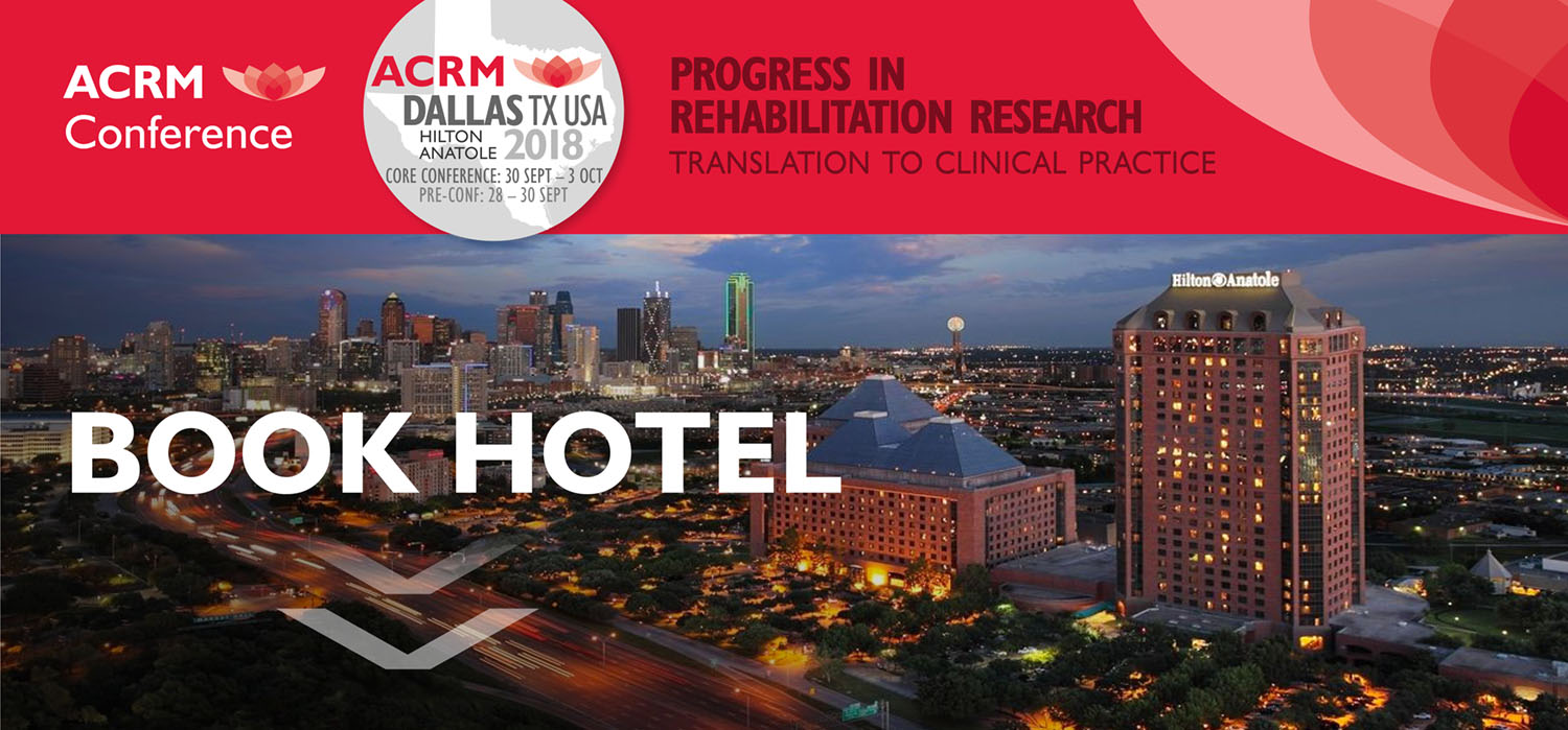 ACRM Conference 2018: BOOK HILTON Anatole Dallas