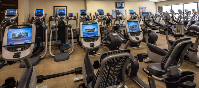 Hilton Anatole DALLAS health club equipment