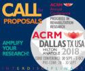 Call for Proposals: ACRM Annual Conference DALLAS 2018 Hilton Anatole