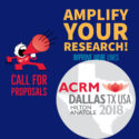 Amplify Your Research! Call for Proposals: ACRM Annual Conference DALLAS 2018 Hilton Anatole