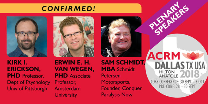 ACRM 2018 Conference 3 Plenary Speakers