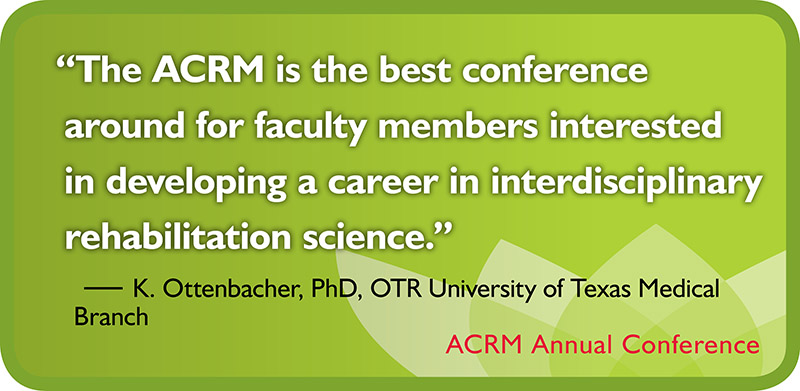 ACRM Conference quote testimonial badge