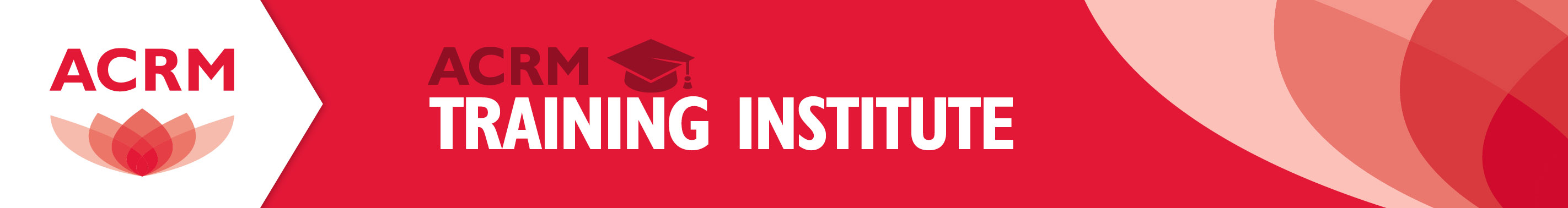 ACRM Training Institute header
