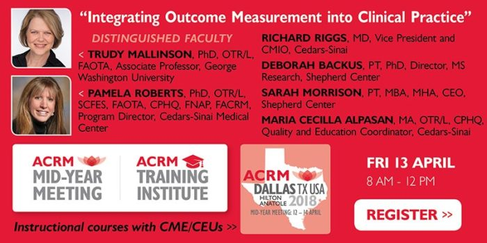 ACRM Training Institute Instructional Course