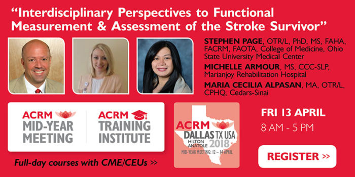 Mid-Year Meeting & ACRM Training Institute April 2018 DALLAS Page course