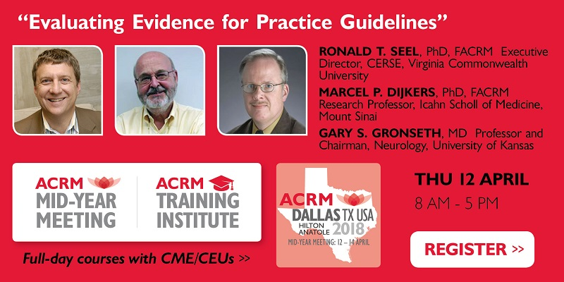 ACRM Mid-Year Meeting Instructional Course banner