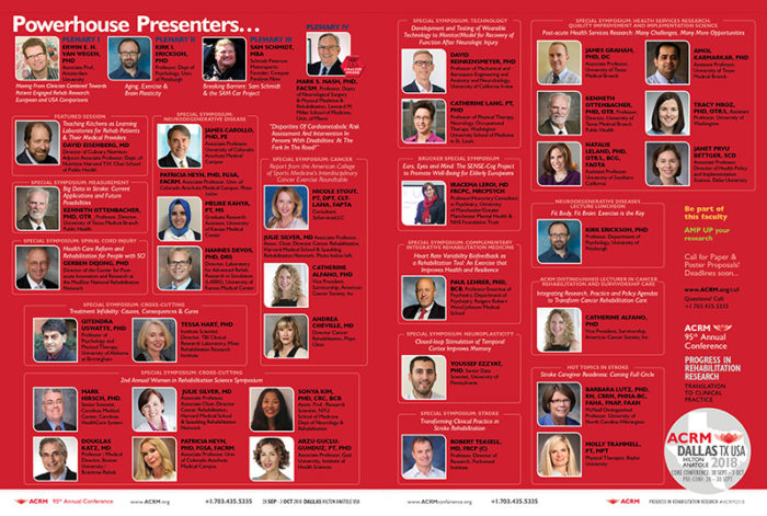 Powerhouse Presenters at ACRM Annual Conference DALLAS 2018