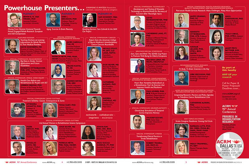 ACRM Annual Conference 2018 Dallas BROCHURE Rock Stars: March Brochure