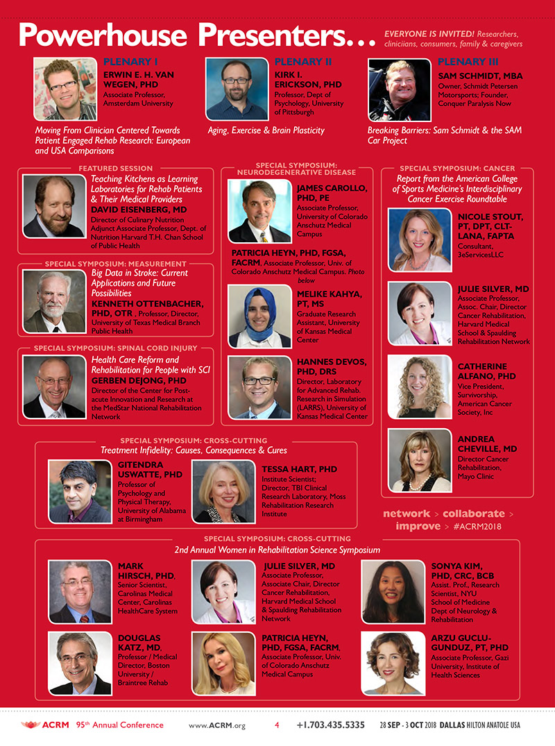 ACRM Annual Conference 2018 Dallas BROCHURE Rock Stars: March Brochure JPG