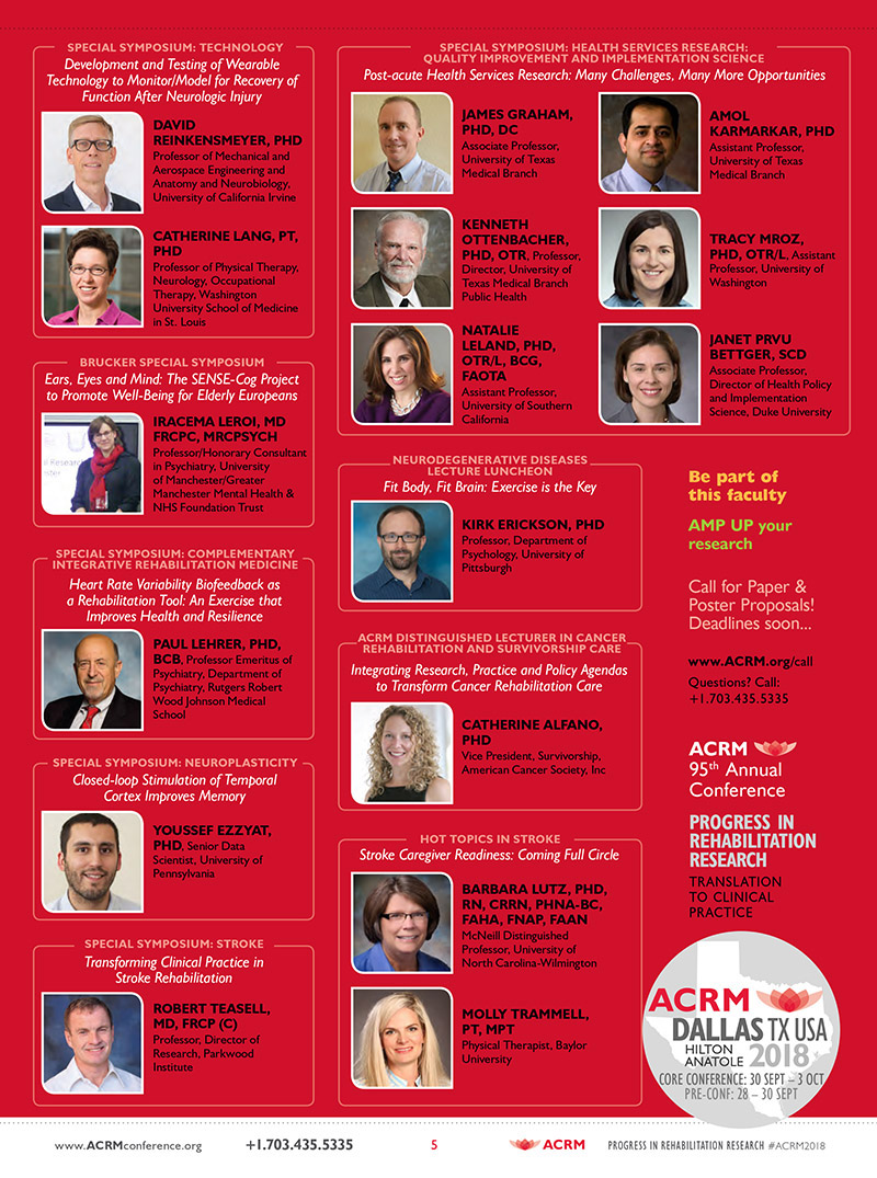 ACRM Annual Conference 2018 Dallas BROCHURE Rock Stars2 PG 5: March Brochure JPG L