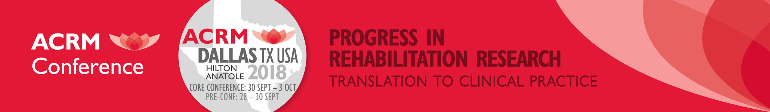 ACRM Annual Conference Progress in Rehabilitation Research