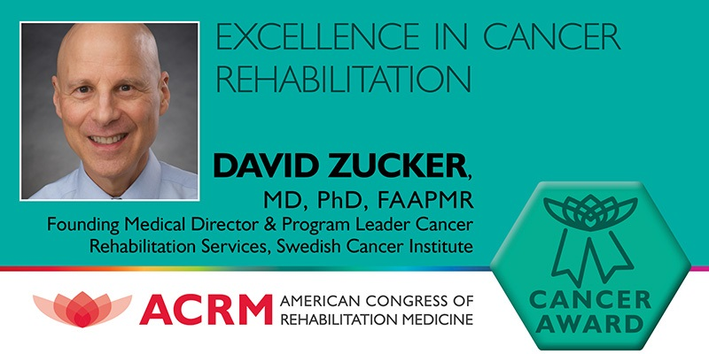 ACRM Cancer Award Recognizes David Zucker