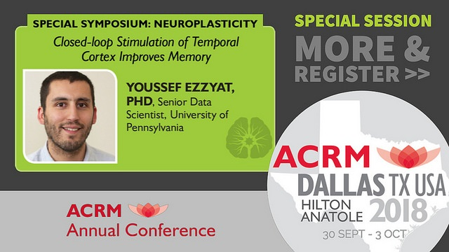 Neuroplasticity Special Symposium with Dr. Youssef Ezzyat