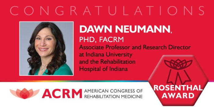 MItchell Rosenthal Mid-Career Award 2018 Recipient Dawn Neumann