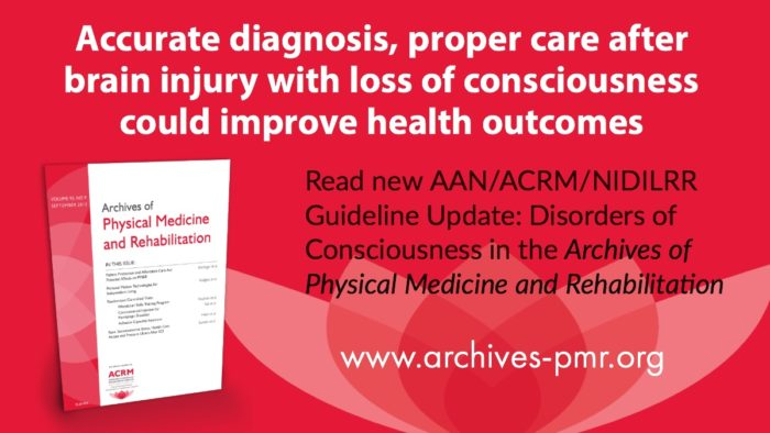 ACRM Disorders of Consciousness Practice Guideline