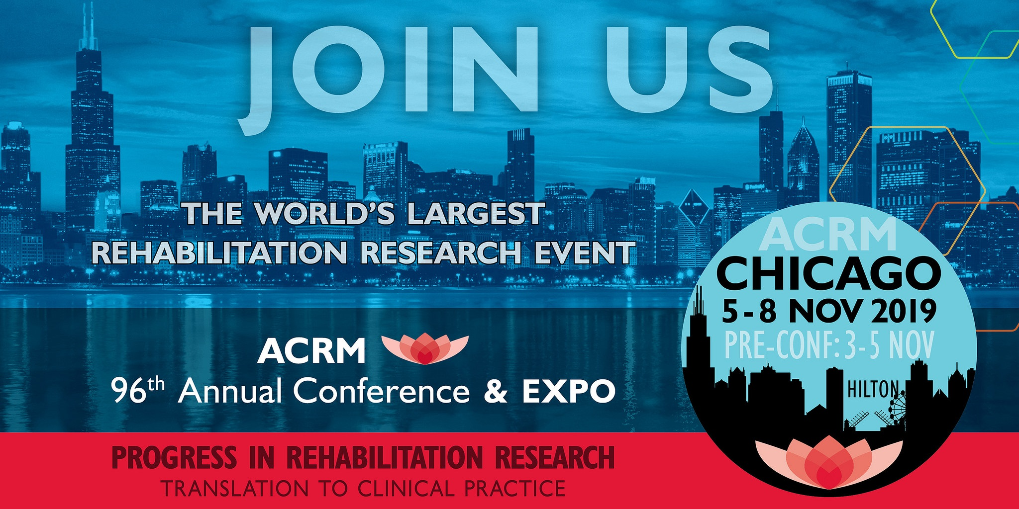 Join us in Chicago for the ACRM Annual Conference 3 - 8 November 2019