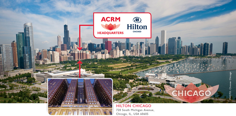 Hilton Chicago ACRM Headquarters hotel