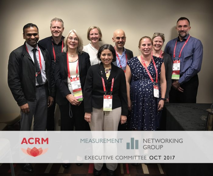 ACRM Measurement Networking Group Executive Committee