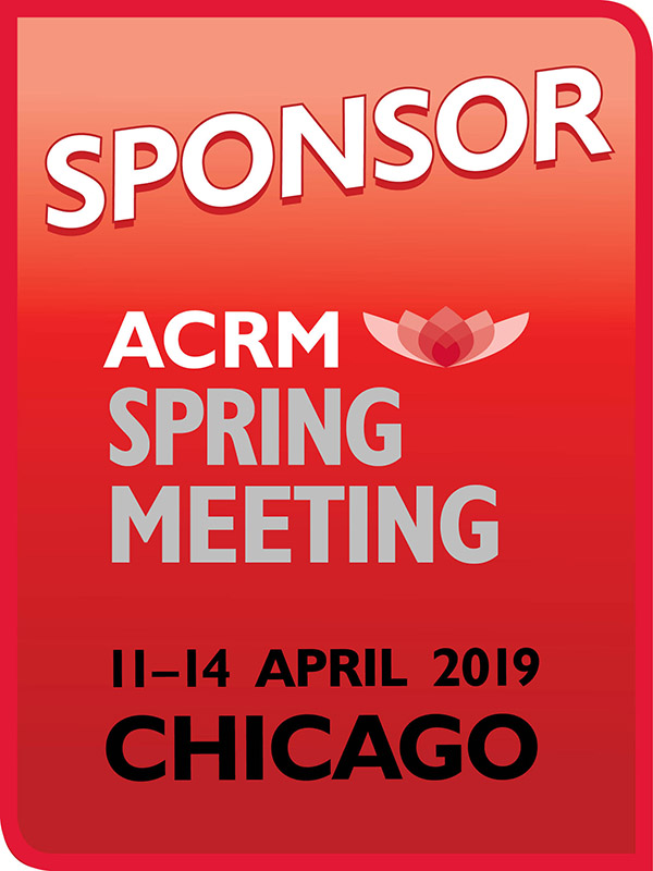 SPONSOR ACRM Spring Meeting