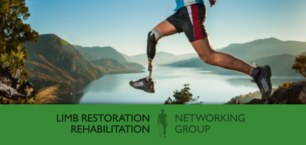 Limb Restoration Rehabilitation Networking Group banner