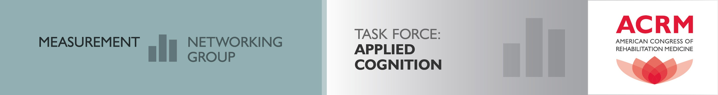 ACRM Measurement Networking Group Applied Cognition Task Force header