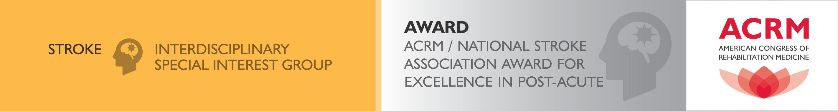 NSA-ACRM Excellence in Post-Acute Stroke Rehabilitation Award