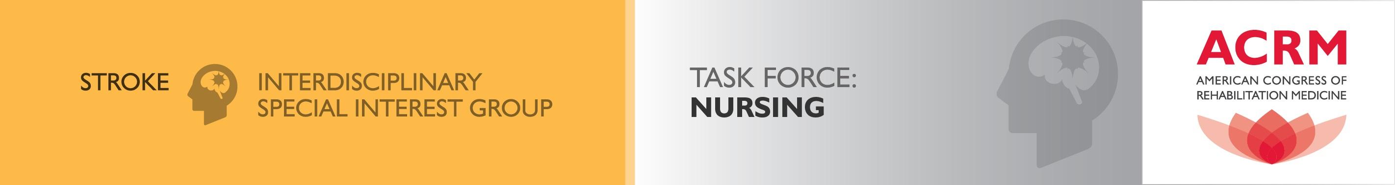 ACRM Stroke ISIG Nursing Task Force banner
