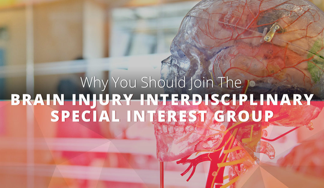 Why You Should Join The Brain Injury Interdisciplinary Special Interest Group