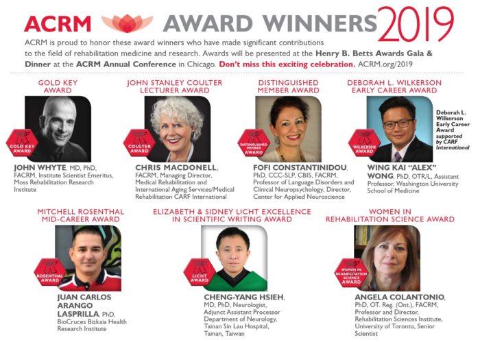 ACRM 2019 Awards Recipients image