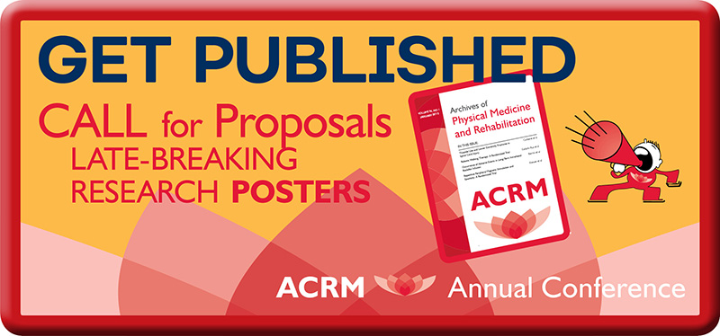 2019 Call for Proposals - ACRM