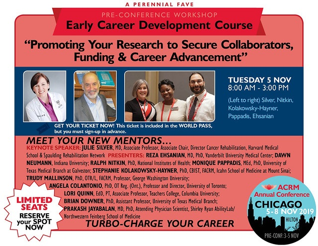 ACRM Early Career Development Course for new investigators