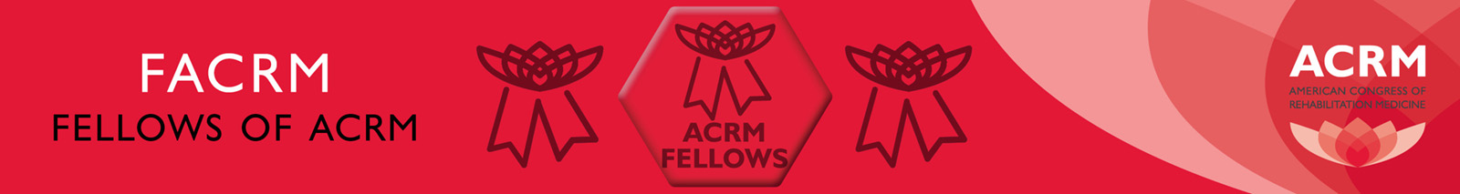 FACRM Fellows of ACRM header
